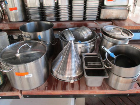 Stainless and Aluminum Pots