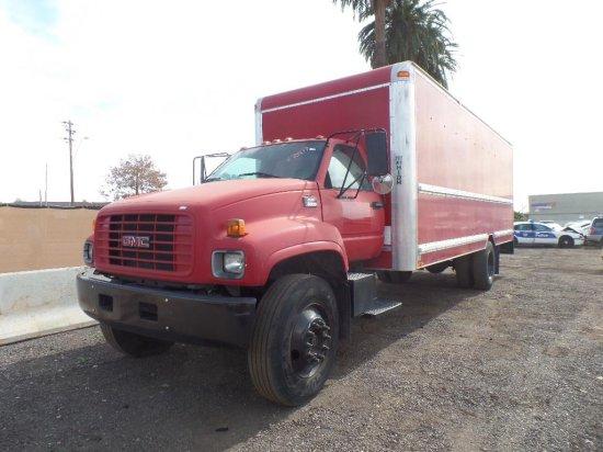 2001 GMC C6500 Moving/Box Truck
