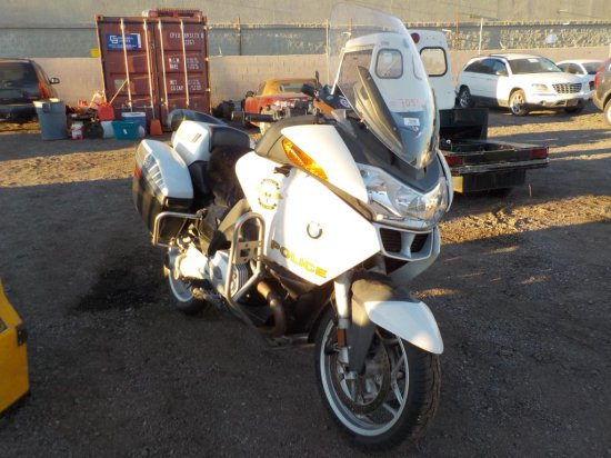 2008 BMW R1200RT Police Motorcycle