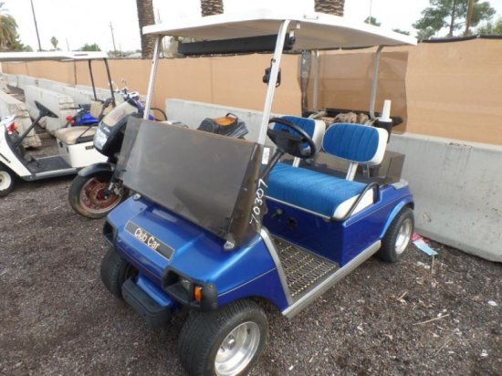 1996 Club Car 48-Volt Golf Cart