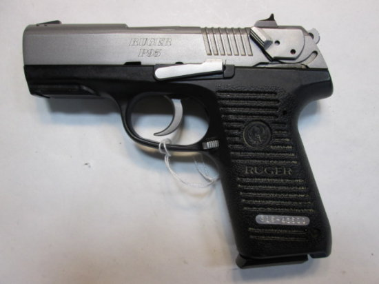 RUGER P95 PISTOL 9MM SN:  316-43600 W/ mag,