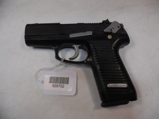 RUGER  P95 Pistol 9MM SN:  315-29486 W/ 2 mags,