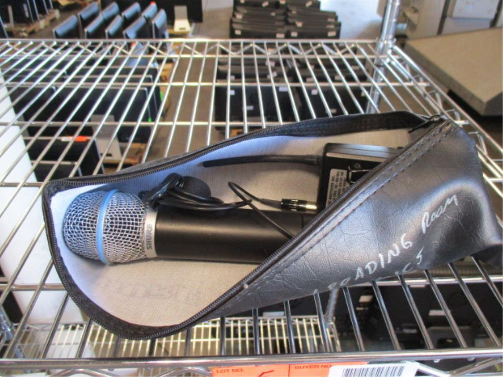 Shure Beta 87 Wireless Microphone with Receiver