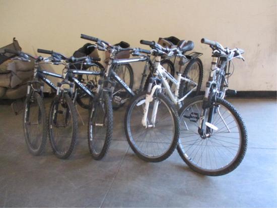 (5) Trek 820 MTN Bikes