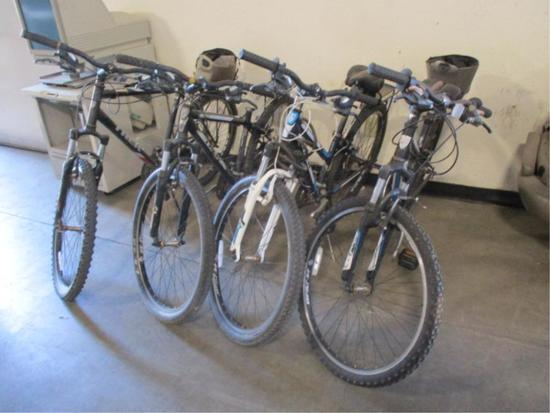 (4) Trek Bikes