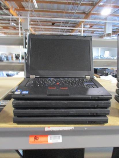 (4) Lenovo Thinkpad Laptops