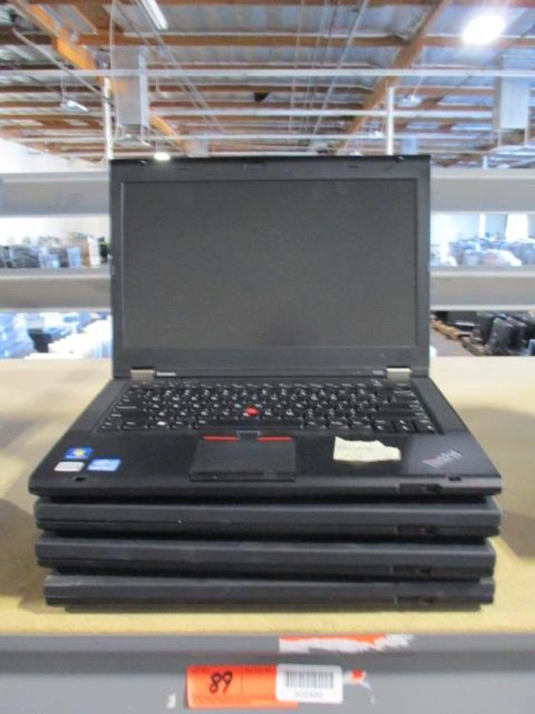 (4) Lenovo Thinkpad Laptops