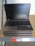 (4) HP ProBook Laptops
