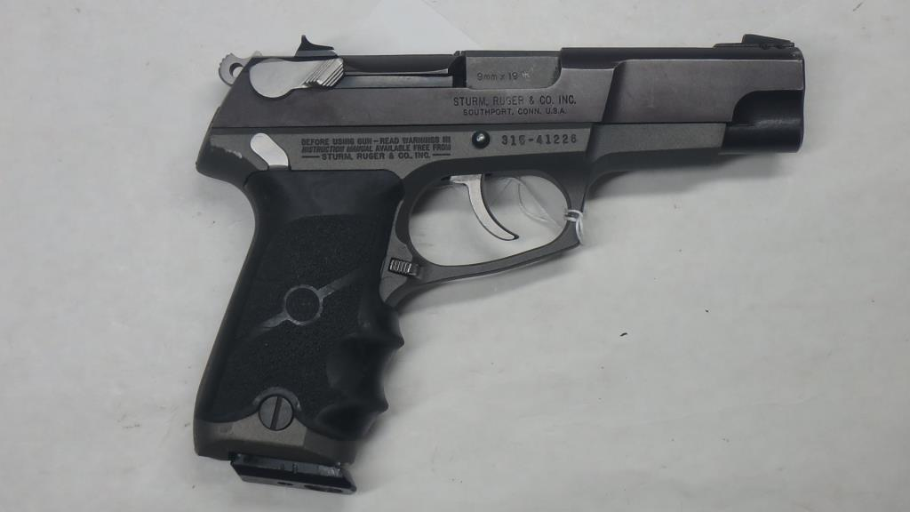 RUGER P89 PISTOL 9MM SN: 315-41226 | Firearms & Military