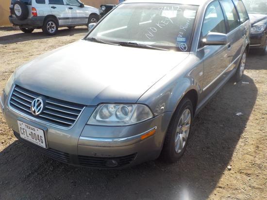 2001 Volkswagen Passat Wagon