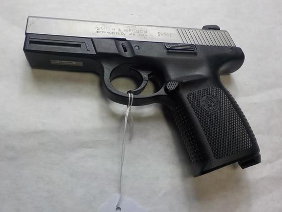 S&W SW9VE PISTOL 9MM SN:  DSE9785 NO MAG, SURFACE