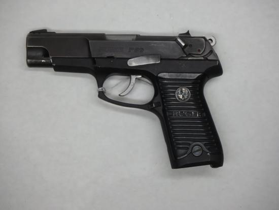 RUGER P89 PISTOL 9MM SN:  304-63433 NO MAG, FAIR