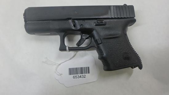 GLOCK 30 PISTOL 45 SN:  CUZ609US NO MAG, AVERAGE