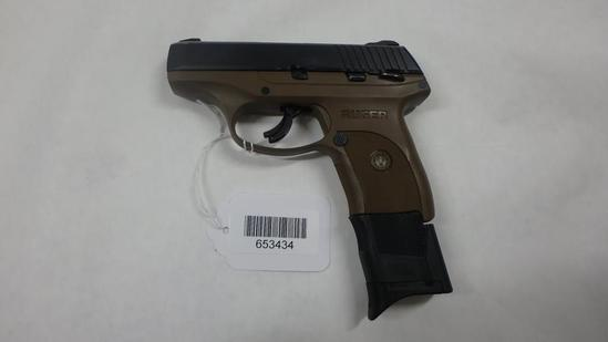 RUGER LC9S PISTOL 9MM SN:  328-93135 W/MAG,