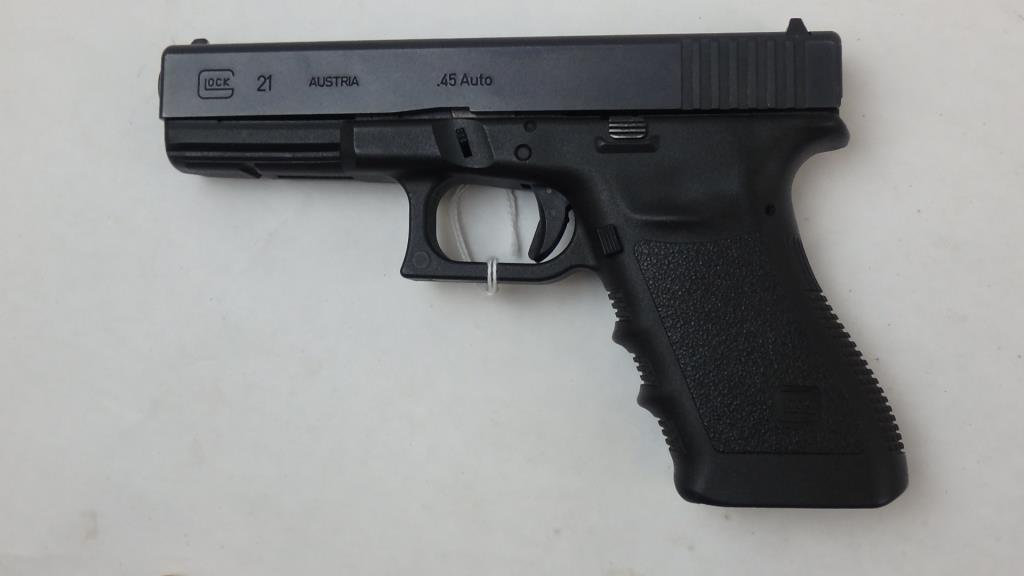 GLOCK 21 PISTOL 45 SN:  NYC060 NO MAG, GOOD