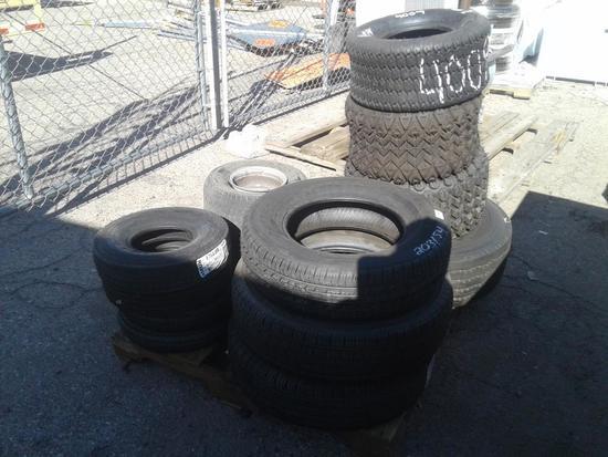 * Tires Pallet