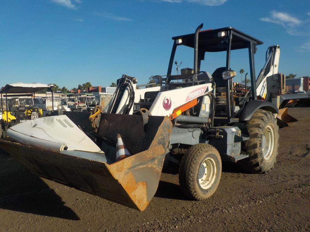 2003 Terex TX760 Backhoe Tractor