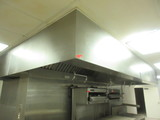 Exhaust Hood with Ansul