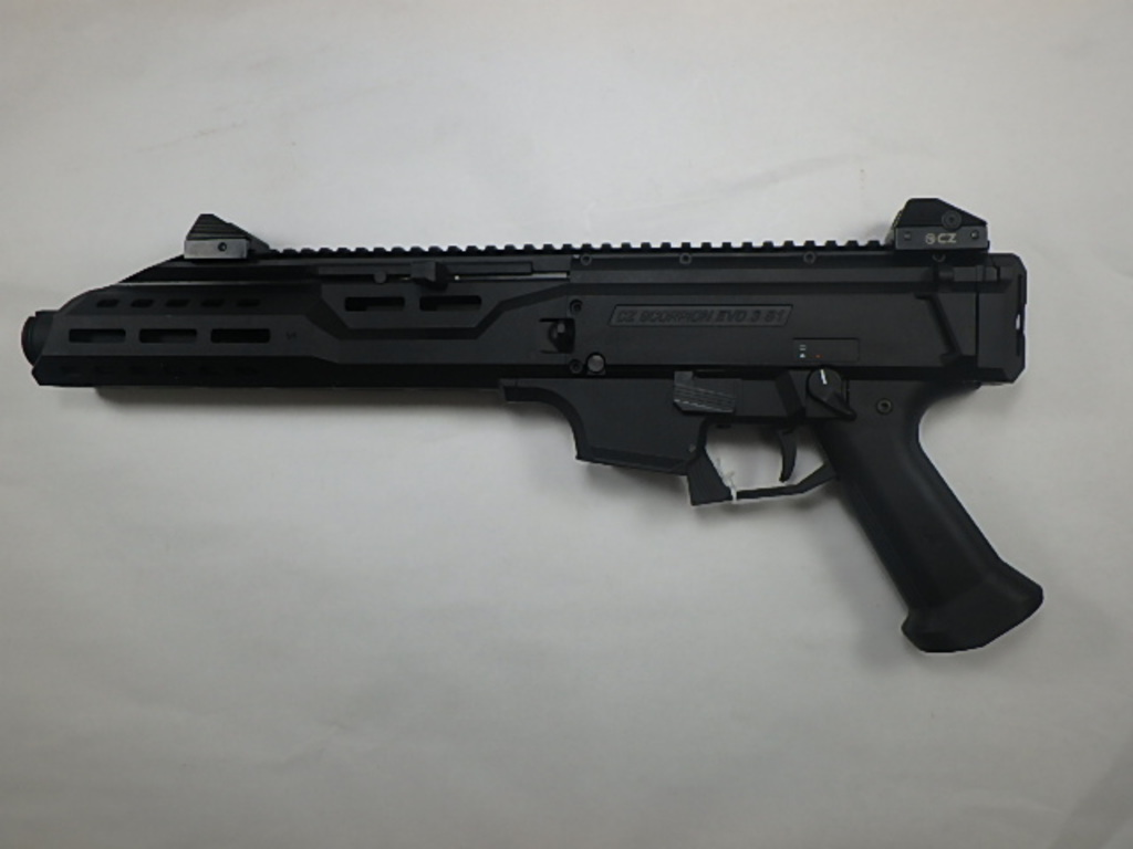 CZ SCORPION EVO 3 S1 PISTOL 9MM SN:   C183487