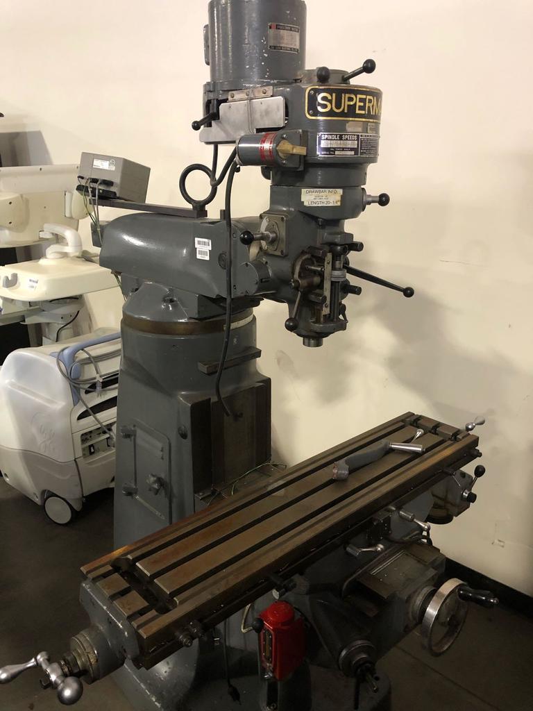 Supermax milling machine