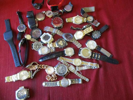 Various Watches in Bag