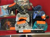 Box Of PS3/PS2 System W/ Games And Controllers