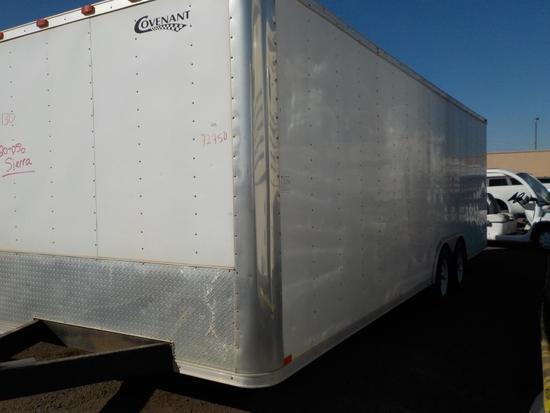 2008 Covenant Cargo Box Trailer