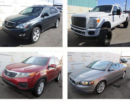 Passenger Vehicles Public Auction - Phoenix, AZ
