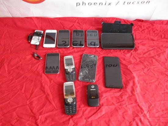 Assorted Phones/Ipods