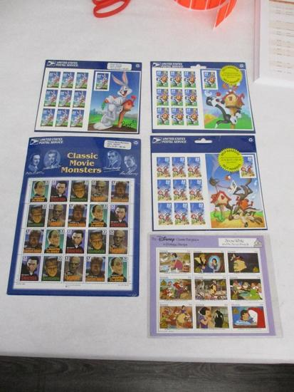 Grouping of U.S. Postage Stamps including: