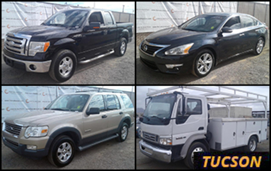 Passenger Vehicles Public Auction - Tucson, AZ