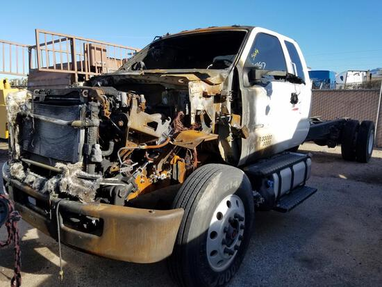 2018 FORD F750 CAB CHASSIS