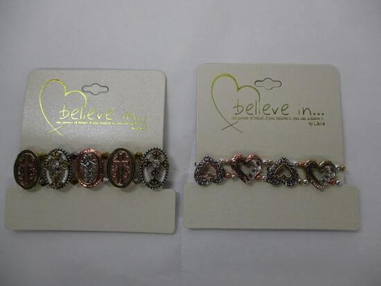 (2pc) Inspirational Bracelets