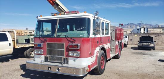 1997 Pierce Saber Pumper Fire Truck
