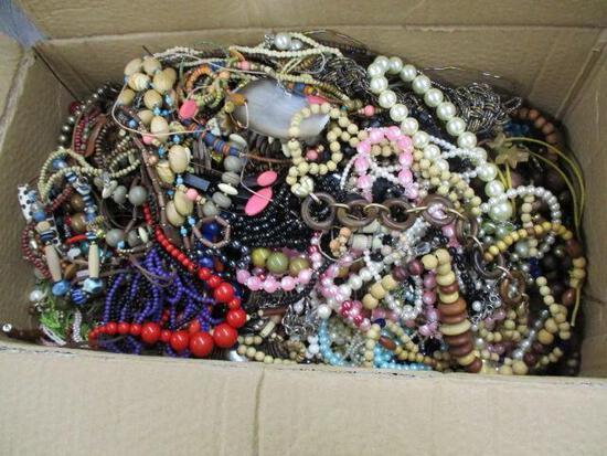 Lg Box of Costume Jewelry