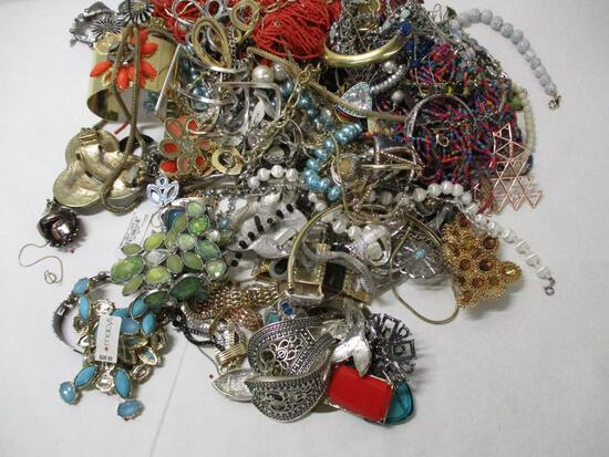 Mystery Bag of Assorted Costume Jewelry
