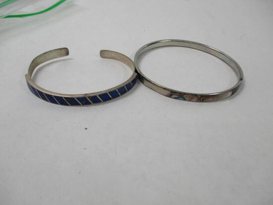 (2) Silver South West Bracelets