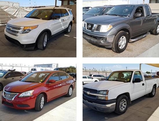 Public Vehicle & Equipment Auction - Tucson, AZ