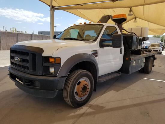 2008 Ford F-550 SD Utility Truck