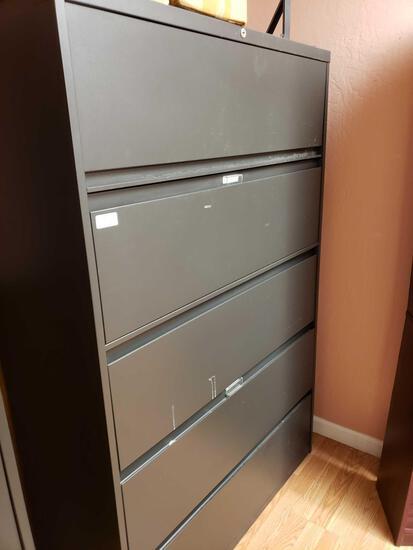 Metal 5-drawer File Cabinet