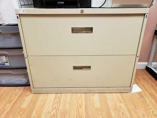 Metal 2-drawer File Cabinet