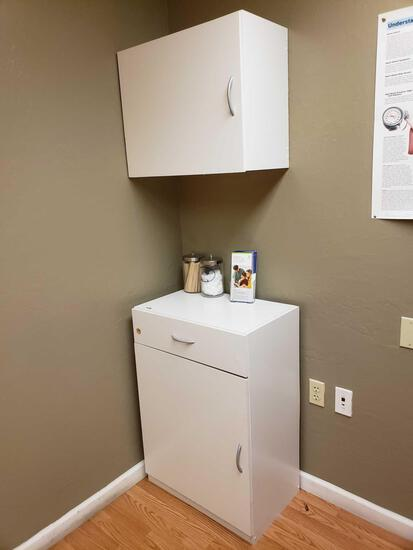 Cupboard and Cabinet incld. Medical Grade Items