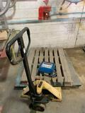 Floor Scale and Pallet Jack