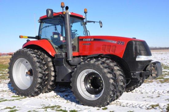 '11 Case-IH Magnum 275 tractor