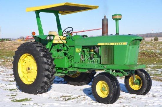 '67 JD 4020 diesel tractor