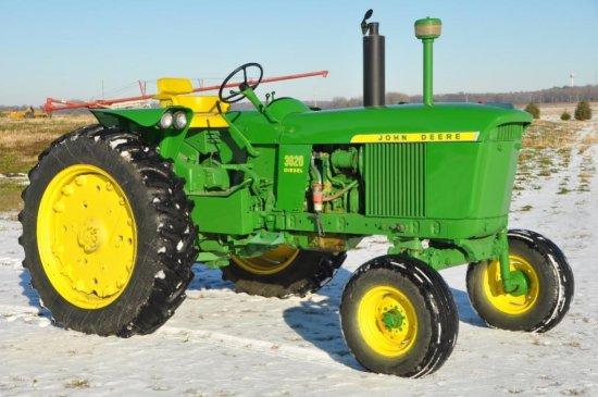 '64 JD 3020 diesel tractor