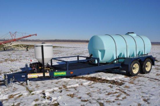 Schaben P265-1010 tender trailer