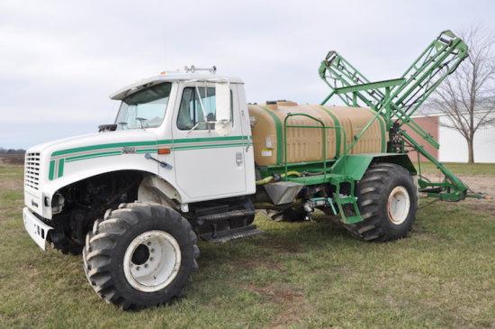 97 International 4700 >> 97 International 4700 Sprayer Truck Auctions Online Proxibid