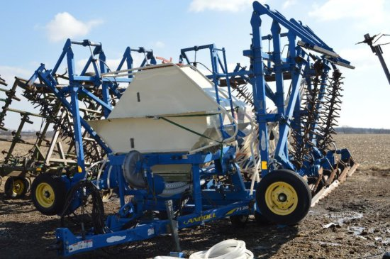 Landoll 7130 To The Max 32 vertical tillage tool