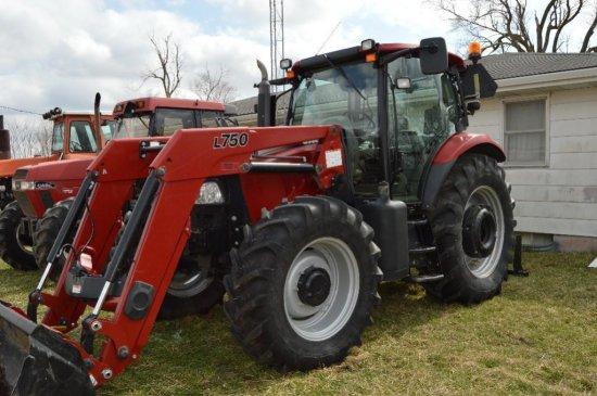 11 C-IH Maxxum 140 MFWD tractor